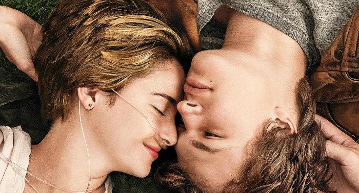 "Affiche du film ""Nos étoiles contraires"""